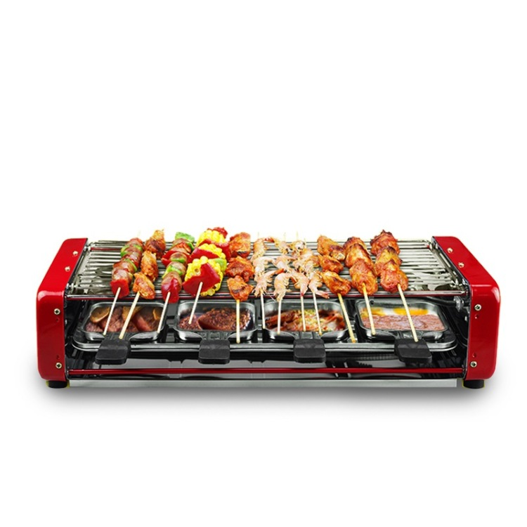 2016 Time-limited Direct Selling Infrared Gas Burner Environmental Health Household Smoke Electric Grill Kebab Machine Hotplate
