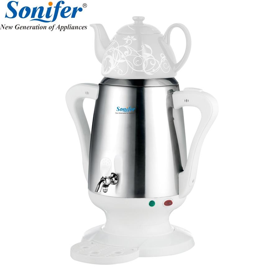 4L нержавеющая сталь Керамика электрический чайник большой размеры ёмкость бытовой Elcetric самовар Регулируемый температура Sonifer