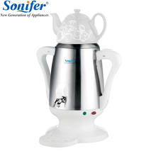 4L из нержавеющей стали Керамика Электрический чайник большой Размеры Ёмкость бытовой Elcetric самовар Регулируемая температура Sonifer