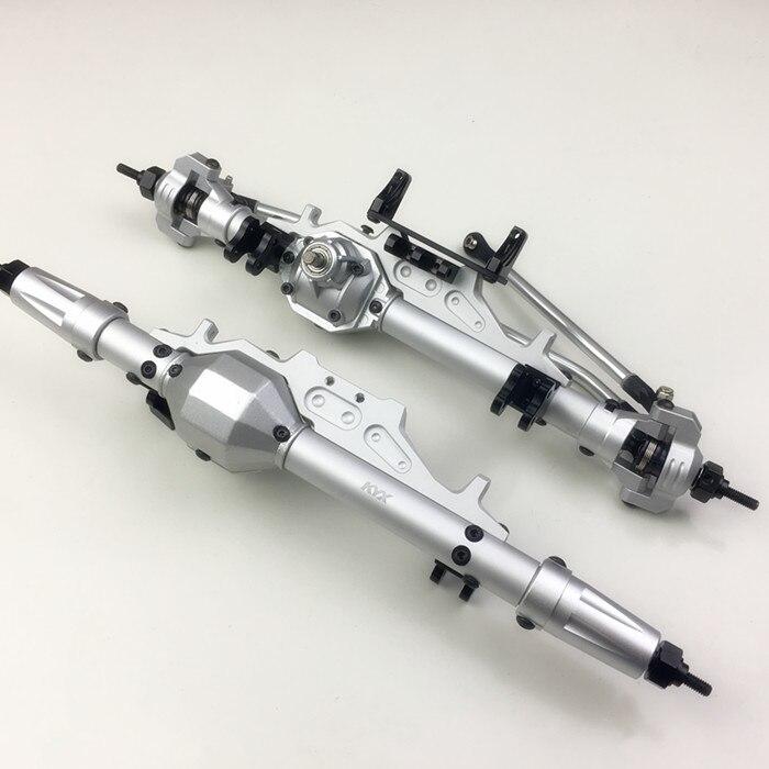 Oyuncaklar ve Hobi Ürünleri'ten Parçalar ve Aksesuarlar'de Alüminyum Ön Aks ve Arka Akslar 30 T/8 T Dişli için 1/10 rc araba Eksenel Wraith RR10 90048'da  Grup 1