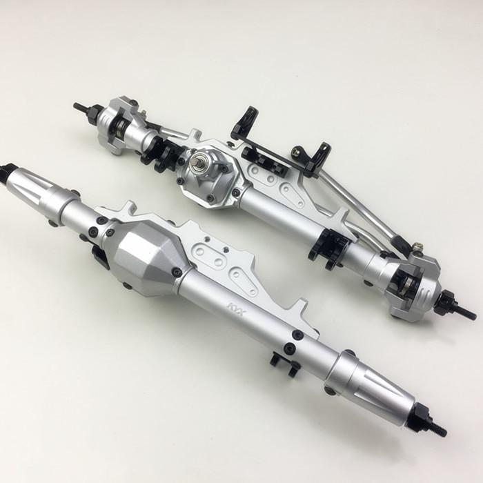 Ejes delanteros de aluminio y ejes traseros engranaje 30 T/8 T para 1/10 rc coche Axial Wraith RR10 90048-in Partes y accesorios from Juguetes y pasatiempos    1