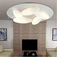 Креативный дизайн  яйца  светодиодный потолочный светильник для гостиной  спальни  передовое освещение для отеля  светильник droplight  5 голово...