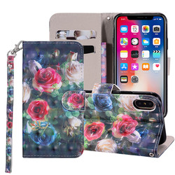 For iphone Xs X 8 7 5C 6 6s Plus 7 6 Case Cover 3d Book Style leather Flip pouch for Apple iPhone 5 5S SE 6 case iphone X Cover 6