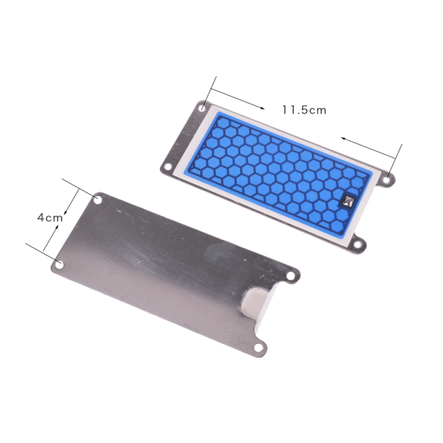 1/2 piece Portable Ceramic Ozone Generator Double Integrated Ceramic Plate Ozonizer Air Water Air Purifier Parts 220V/110V 5g