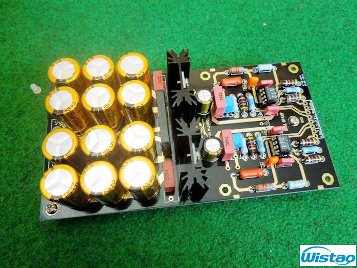 MM Phono Amplifier Board Finished PCBA Turntables Phono Amp Germany DUAL Circuit Attenuated RIAA Circuit HIFI Audio DIY hot sale power amp board 68w 68w lm3886 amplifier board with circuit protection