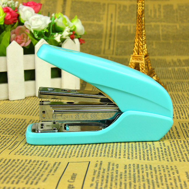 Cute Candy Color School Paper Staplers Kawaii Stataionery