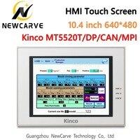 Kinco mt5520t MT5520T-DP MT5520T-CAN MT5520T-MPI hmi tela de toque 10.4 polegada 640*480 interface da máquina humana newcarve