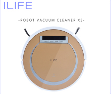 Robotic Vacuum Cleaner ILIFE X5 Sweeping Machine vaccum floor cleaner Wet&Dry Clean,Self Charge