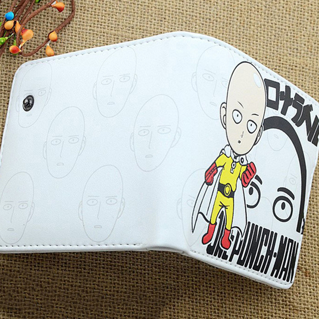 One Punch Man Saitama Sensei PU Anime Cosplay Wallet