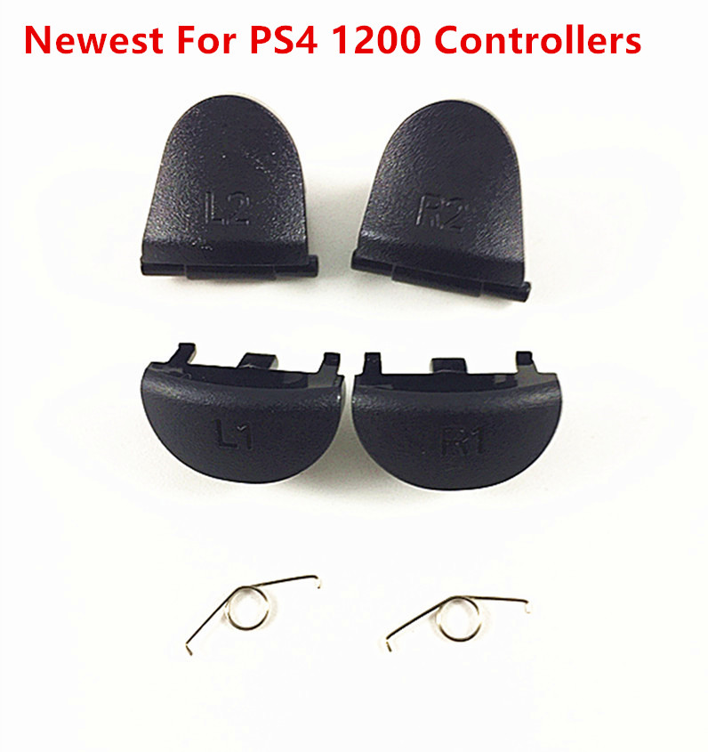 Repair Part L1 R1 L2 R2 Trigger Buttons Button With Spring For Sony Playstation 4 Slim 1200 PS4 1200 Controller DualShock 4 1200