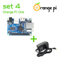 Orange Pi One SET4:  OPi One + Power Supply