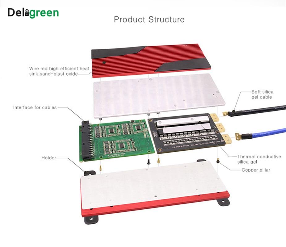 8 s 100A120A150A200A PCM/PCB/BMS für 25,6 v LiFePO4 Lithium-Batterie ...
