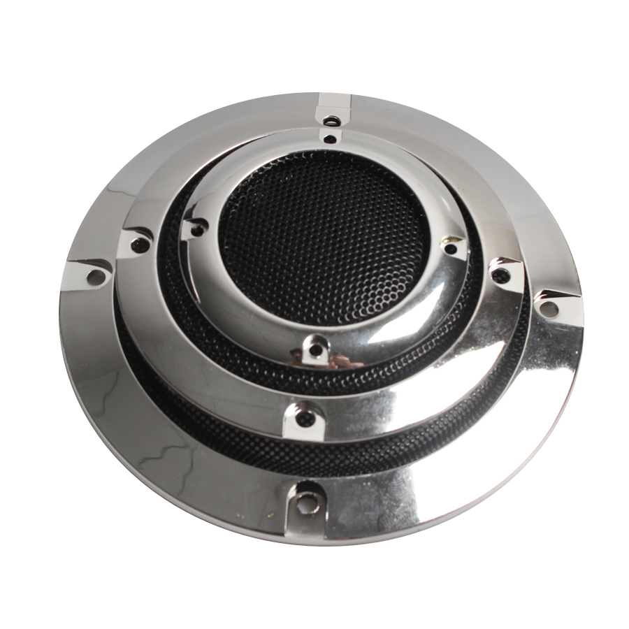 2Pcs Audio Speakers Cover 2 INCH 3 INCH 4 INCH Protective Mesh Plastic Frame Protective Grille Circle Speaker Accessories
