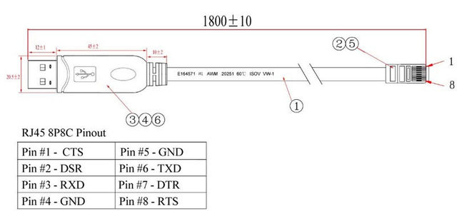 cisco rj45 console cable wiring diagram explained wiring diagrams rh dmdelectro co A Diagram for RJ45 to RJ45 Console Cable Cat 6 RJ45 Wiring-Diagram