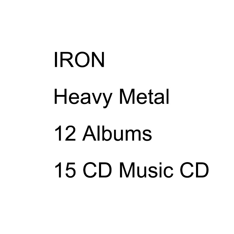 IRON Heavy Metal Complete 12 Albums 15 CD Full Box Set Chinese Factory Sealed Version Heavy Metal CD цена 2017