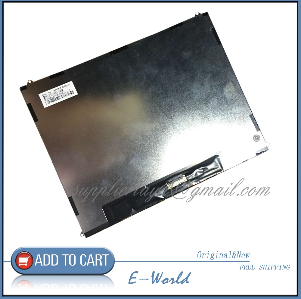 Original 9.7inch LCD screen lcd panel/display TM097B36BA18 tablet pc for Patriot M908 free shipping original 7 inch lcd display kr070lf7t for tablet pc display lcd screen 1024 600 40pin free shipping 165 100mm