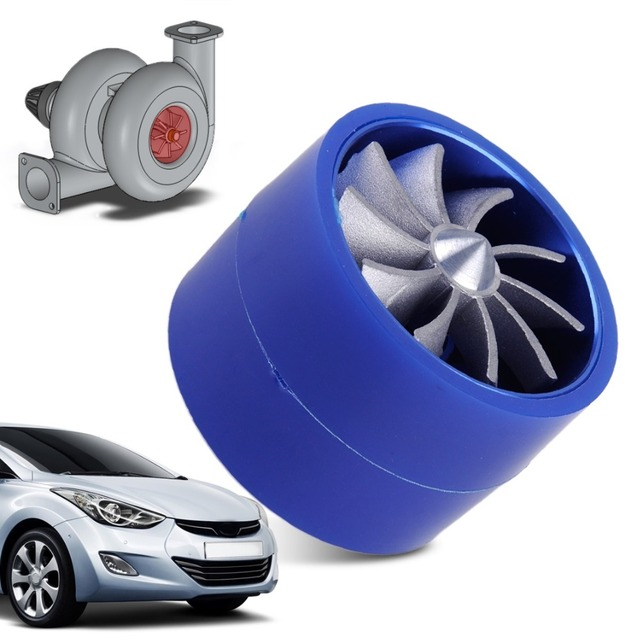 Citall Car Fuel Gas Saver Supercharger Turbonator Double Turbine Turbo Charger Air Intake Fan For Ford Audi Honda Mazda Nissan