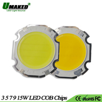 UMAKED High Power COB Chips LED Light 3W 5W 7W 9W 15W Dia28/20mm Ball Integrated SMD diodes LEDs Bulb spotlight Ceiling Lamp DIY