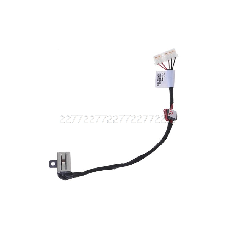 <font><b>DC</b></font> Power <font><b>Jack</b></font> Cable Socket Plug Wire Harness Connector Charging Port Replacement for <font><b>Dell</b></font> Inspiron 15-5000 <font><b>5558</b></font> 5555 5559 Laptop image