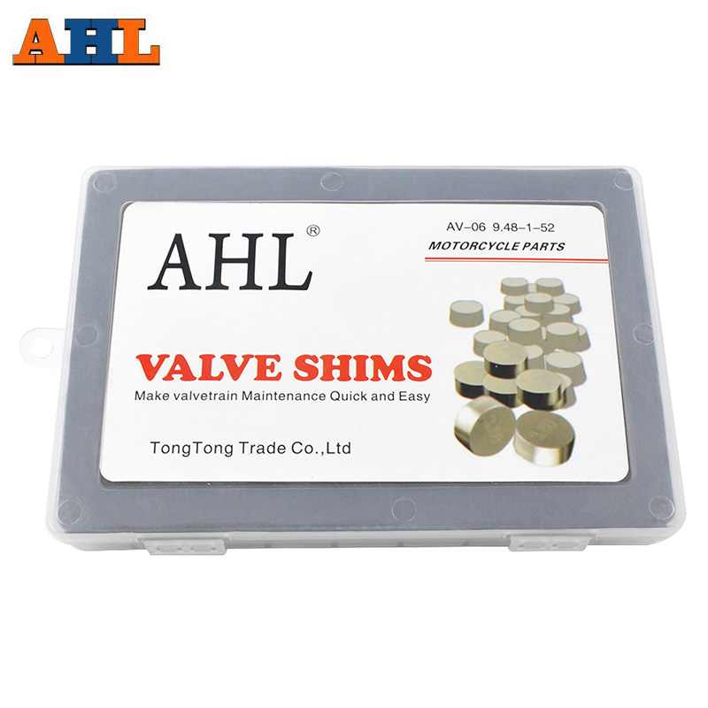 AHL 9 48 mm Valve Adjustment Shims Valve Pad Shims Hotcam For YAMAHA TTR250 TTR 250