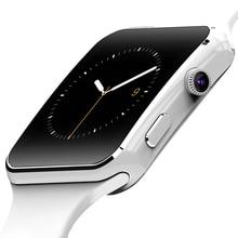 E6 smart watch kamera sim-karte dfü anrufen smartwatch für android schrittzähler kalender anti-verlorene smssync bluetooth intelligente uhr