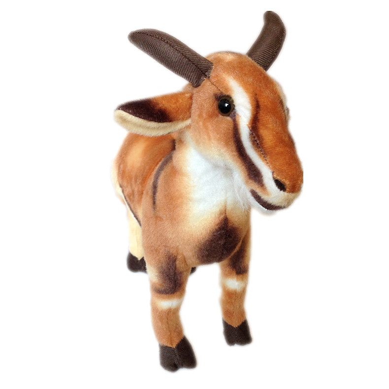 simulation animal large about 55cm goat sheep plush toy home decoration prop toy birthday gift b4907 stuffed animal 44 cm plush standing cow toy simulation dairy cattle doll great gift w501