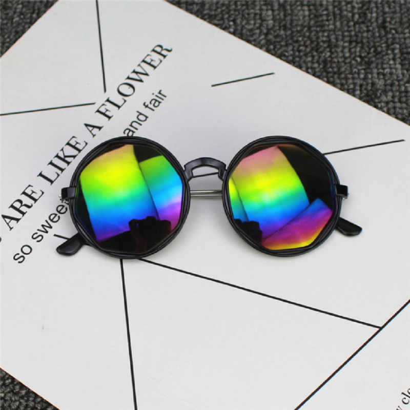 Hot Fashion Headwear Accessories ANTI-UV Sunglasses Eyewear Kids Boys Girls Shades Baby Outdoor Protection Goggles Cool Glasses