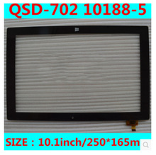 New 10 1 inch tablet capacitive touch screen QSD 702 10188 5 free shipping