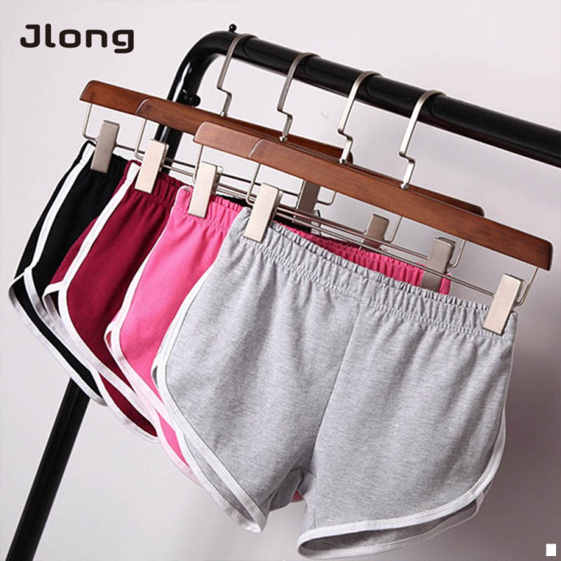 Summer Women Ladies Casual   Shorts   Cozy Multi Colors Breathable Elastic Waist   Shorts