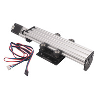 Assembled 3d printer sliding table Rail Length 250/300/500mm 2060 V slot NEMA17 Pitch 2MM T8 Lead Screw Linear Actuator