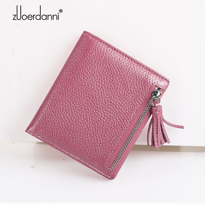 Small Women Wallet Female Genuine Leather Purse Zipper Coin Pocket Purses Mini Short Clutch Wallets Lady Money Bags Card Holder new fashion leather small lady wallets women coin purse short with card holder vintage girls wallet mini purses best gift 500835