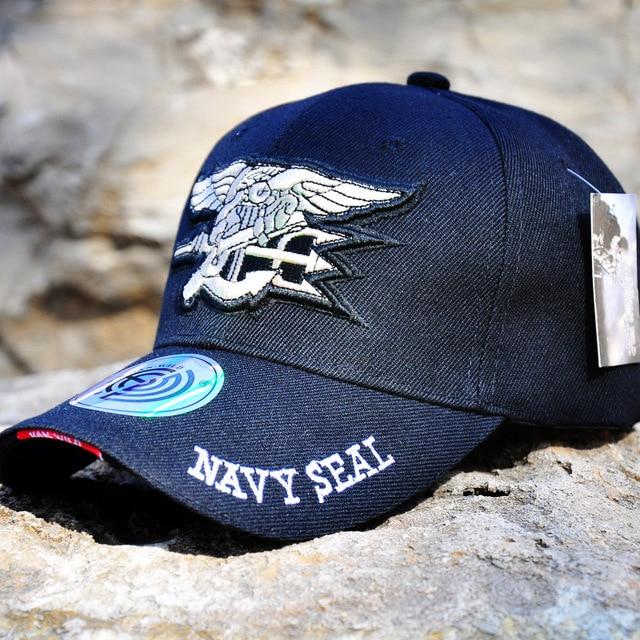 3a6625896ff Navy Seals Baseball Cap Casual Camouflage Tactical Cap SWAT Snapback Caps  Outdoor Sport Gorras Adjustable Paintball