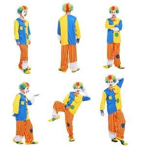 Image 5 - 2016 nieuwe promotionele Halloween kostuum volwassen clown kostuum magic show kleding maskerade kostuums Clown serie