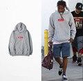 2017 hombres de la caja logo rapero 2pac hip hop de moda sudadera con capucha sudadera de gran tamaño fleece sudaderas hombre kanye west clothing