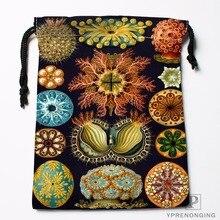 Изготовленные на заказ сумки Haeckel с морской раковиной на шнурке для путешествий, мини-сумка для плавания, походов, игрушек, размер 18x22 см#0412-04-24