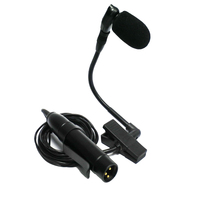 Tenor alto saxophone wired microphone trumpet flute pickup instrument condenser beta98H/C Clip On mic with preamp