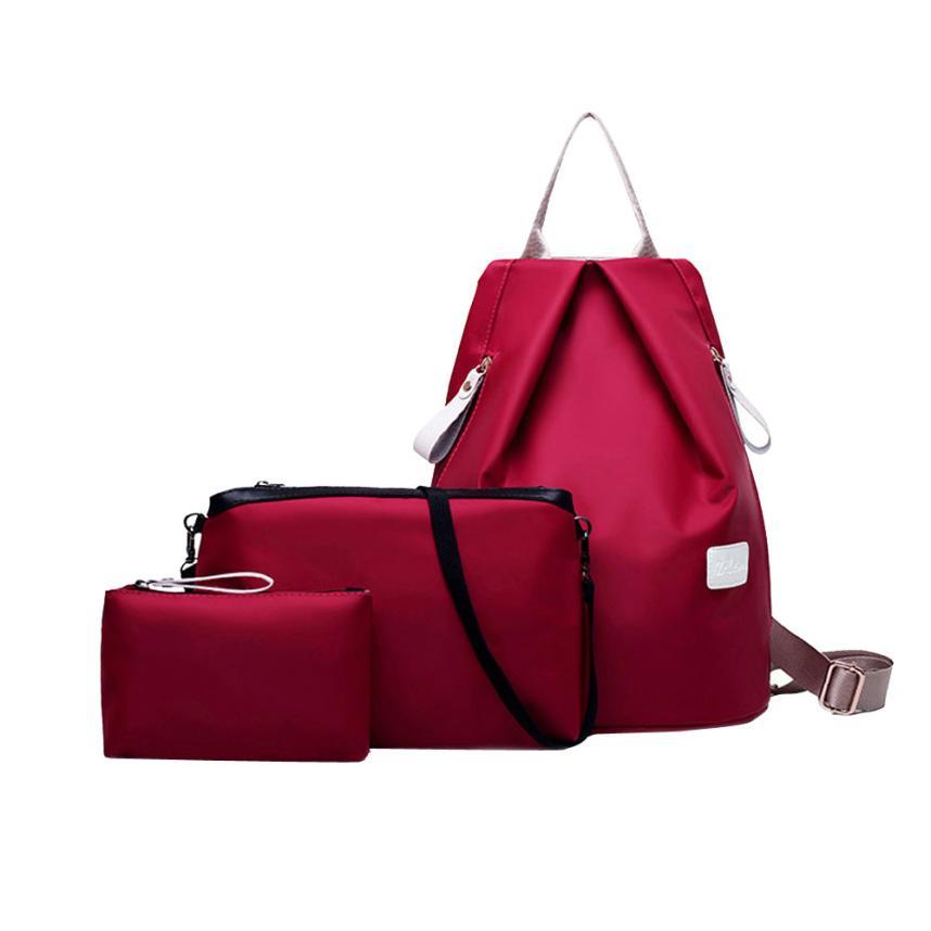 kai yunon 2016 Fashion Women Shoulder Bag Backpack Ladies Purse Aug 24