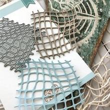 Buy YaMinSanNio Ocean Series Metal Cutting Dies New 2019 for Card Making DIY Scrapbooking Paper Embossing Cut Craft Dies Net Element directly from merchant!