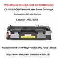 CE505X 05X Серии Тонер-Картридж Совместимый Для HP LaserJet 2050, 2055 Высокая Доходность (6,900 Выход)-Черный