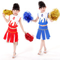 High School Cheerleader Costume Girl Uniforms for Performances Halloween Fancy Dress Cheerleader Dress Sportswear 18