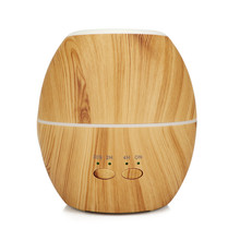 Aroma Essential Oil Diffuser Ultrasonic air humidifier 300ml Aromatherapy machine with Wood Grain 7 Color Changing LED Lights 300ml colorful led timing ultrasonic wood grain base aromatherapy machine air humidifier aerosol dispenser diffuser 2 colors