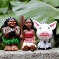 Принцесса Моана Principessa Детские Мауи Брелок Кулон ПВХ Фигурки Коллекционная Модель Игрушки или Детей
