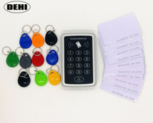 125KHz RFID Access Control System + 100pcs RFID Tags ( or Cards ) Security Proximity Entry Door Lock Strong Anti-jamming