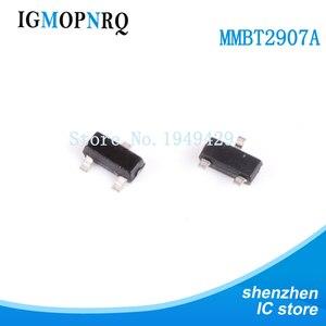 100 sztuk/partia tranzystor MMBT2907ALT1G MMBT2907A MMBT2907 2N2907 2F SOT-23 0.8A/60V
