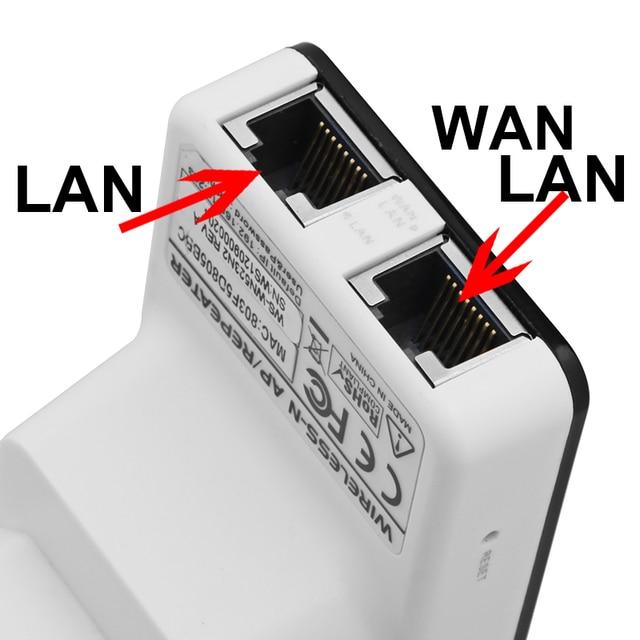 EU Plug Wireless-N Network Router AP WIFI Repeater Amplifier LAN Client Bridge IEEE 802.11b/g/n 300Mbps Singnal Booster