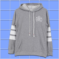 Anime Naruto Ninja Next Hokage Men Women Boys Pullover Swet shirt Hoodie Winter Cotton Warm Cosplay Long Sleeve Gray