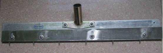 NCCTEC Pin Richtmaschine Selbstnivellierung 560mm/22 ''zoll   stahl schaber die passen kann die zähne von 0-30mm