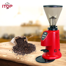 ITOP Electric Coffee Grinder Multifunctional Spice Grinder with Stainless Steel Blades 350W Red