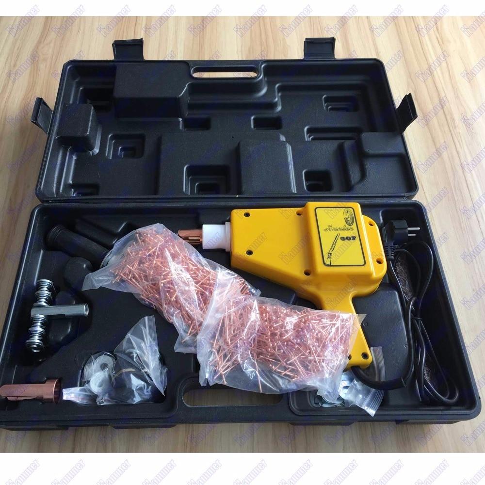 Free shipping Mini spot welder for car body repair Spot welder hunter stud welder font b