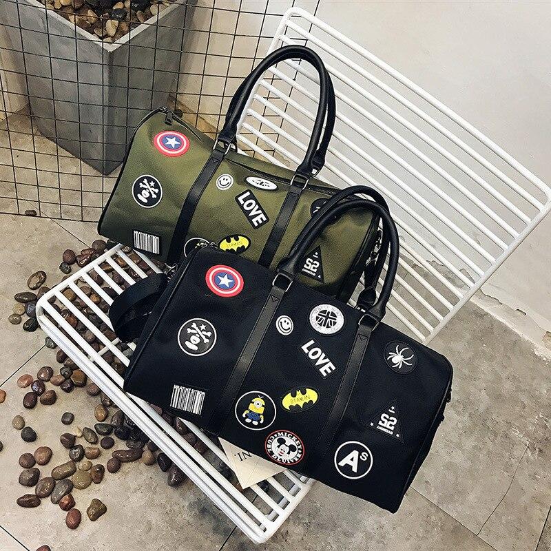 2018 Waterproof Shoulder Sport Gym Bag for Shoes Storage Women Fitness Yoga Training Bags Men's Gymnastic Handbag Crossbody